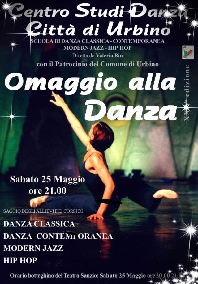Omaggio alla danza 25 maggio 2019 endas comitato for 03 mobili pesaro