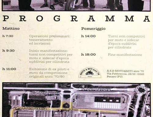 Programma Gran Premio PESARO MOBILI 2019